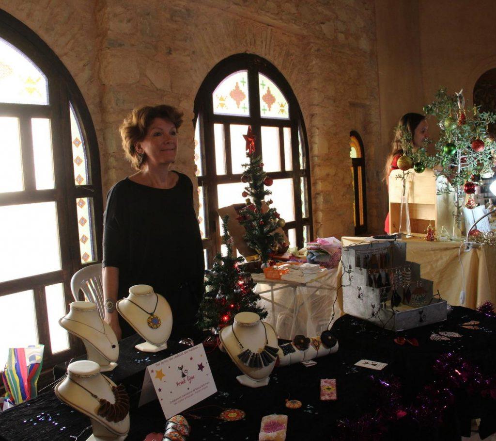 Exposition au Marché de Noël - Agadir (Maroc)