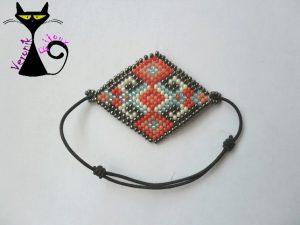 Bracelet Brick Stitch